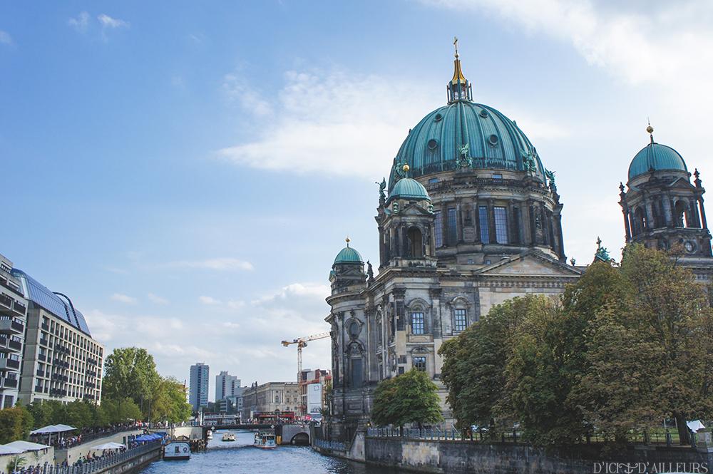 Berliner Dom et la Spree