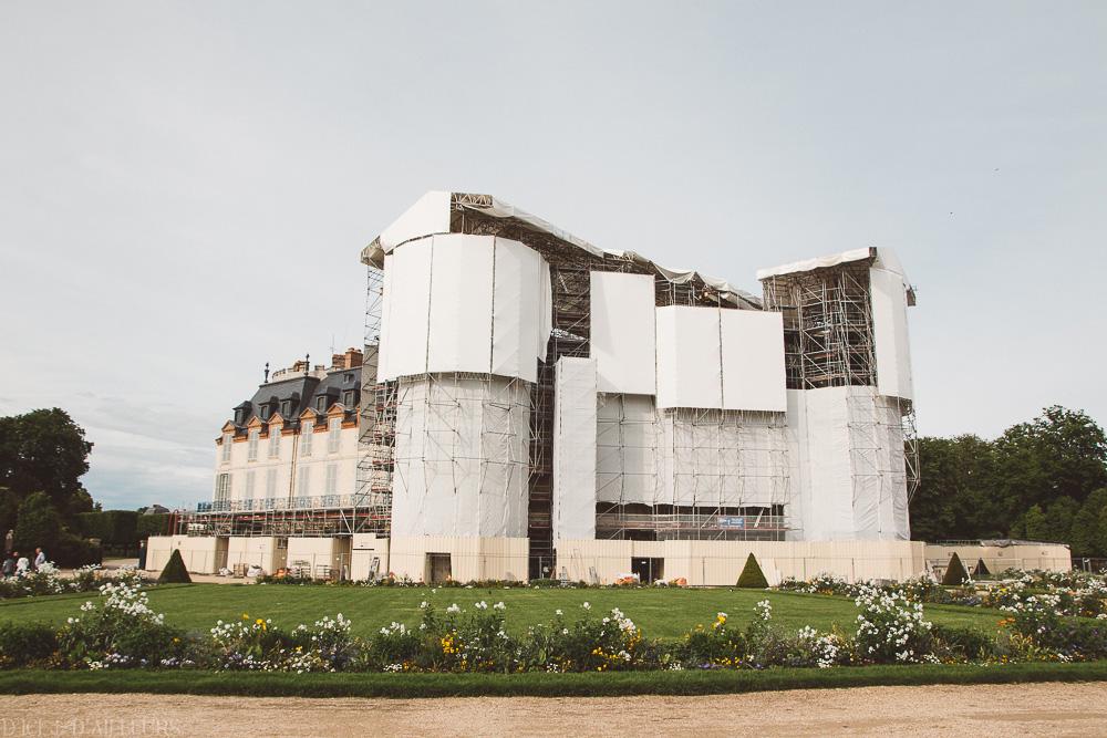 Le Château de Rambouillet en travaux